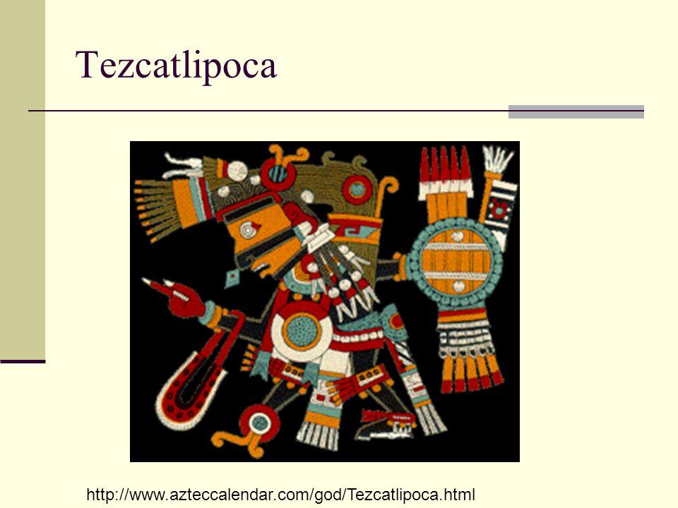 Tezcatlipoca http://www.azteccalendar.com/god/Tezcatlipoca.html