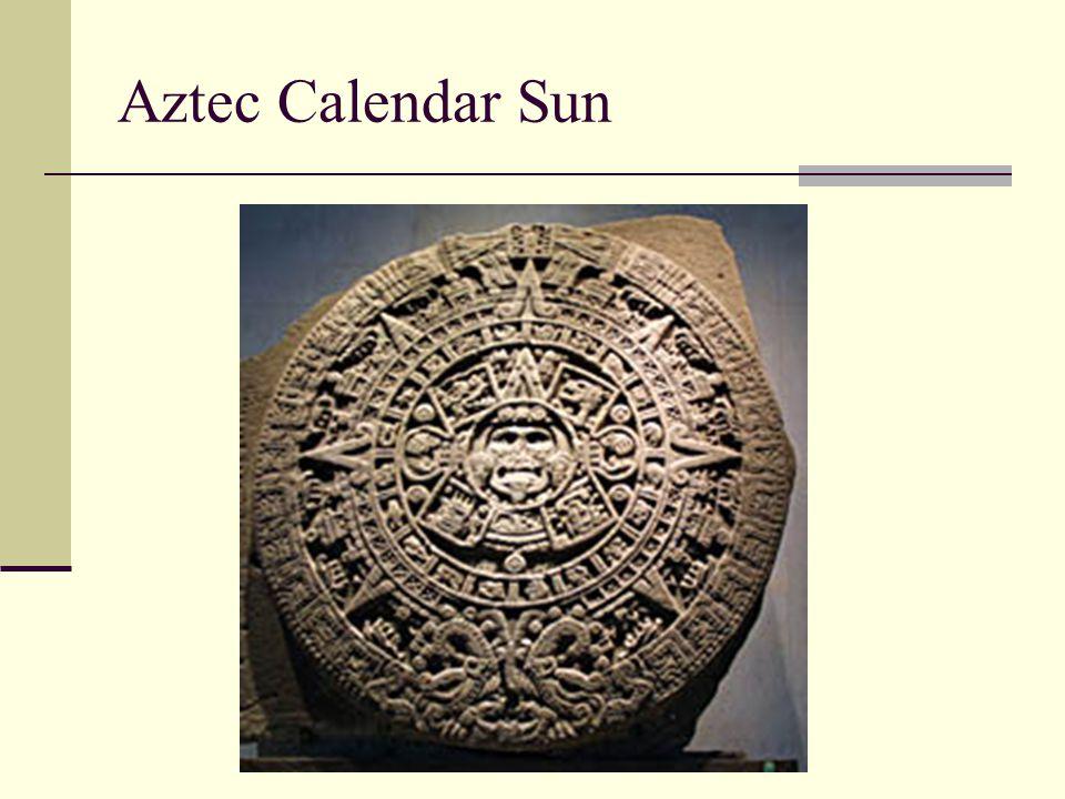 Aztec Calendar Sun