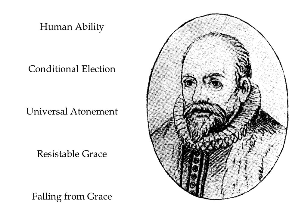 Human Ability Conditional Election Universal Atonement Resistable Grace Falling from Grace