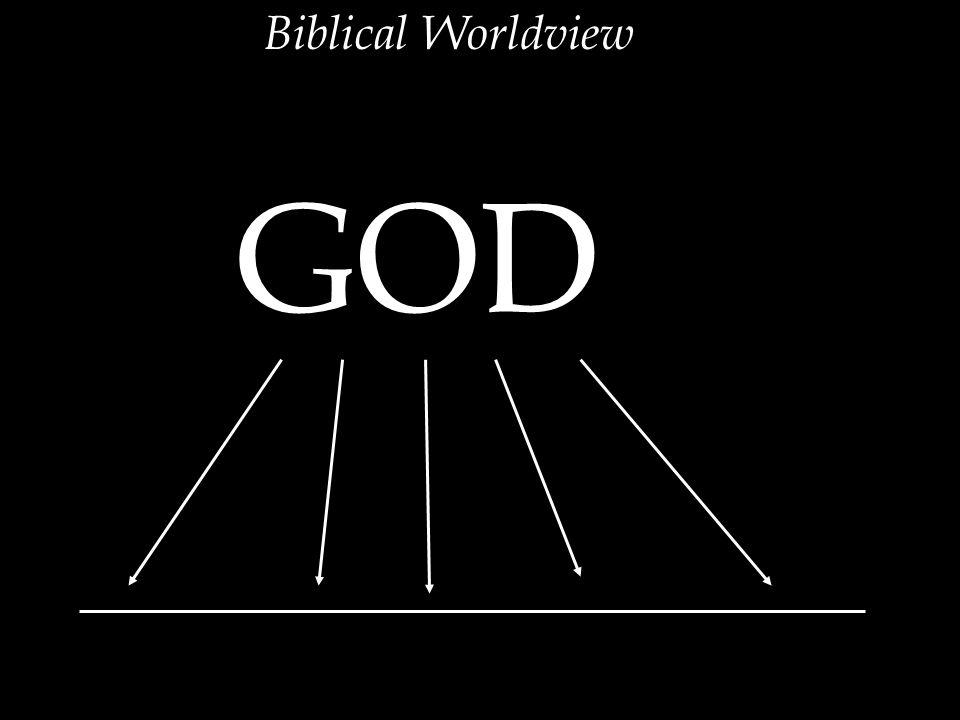 Biblical Worldview GOD