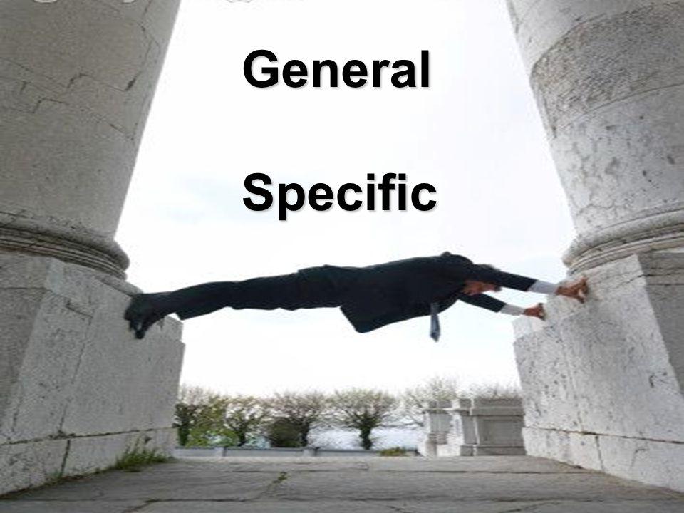 2 GeneralSpecific