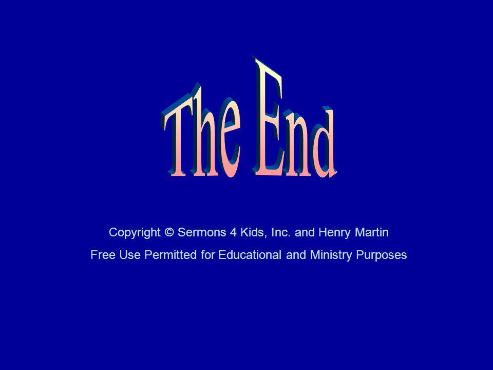 Copyright © Sermons 4 Kids, Inc.