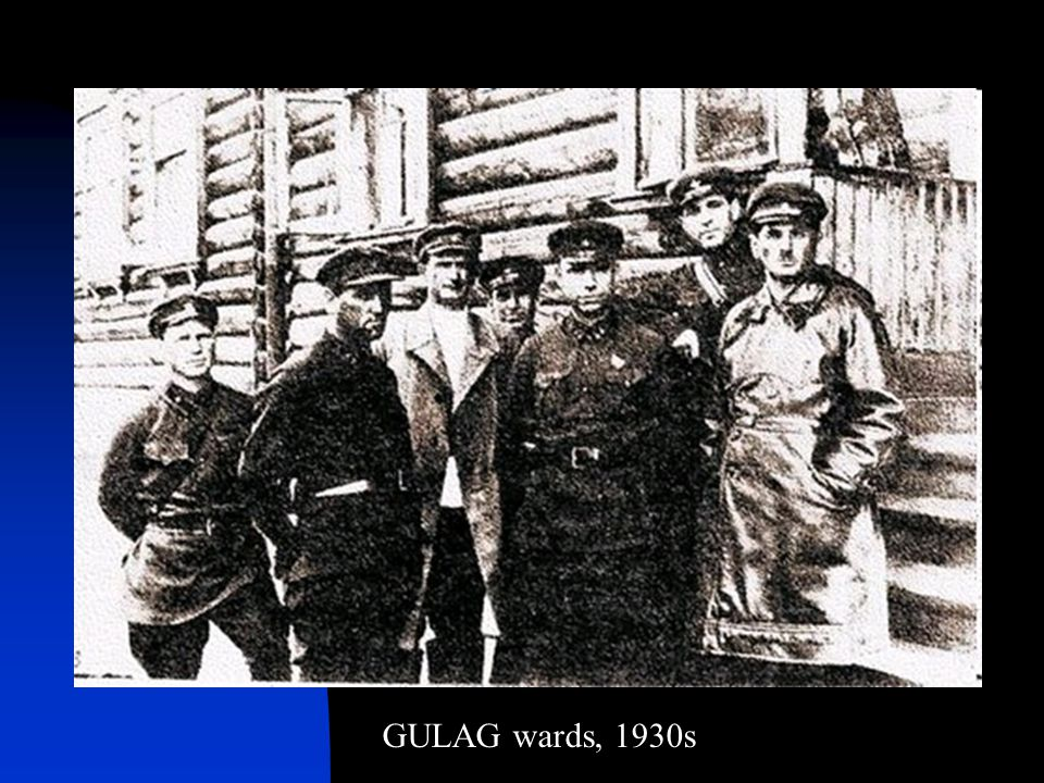 GULAG wards, 1930s