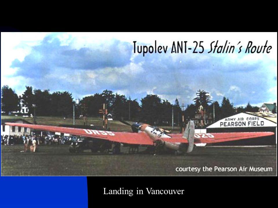 Landing in Vancouver