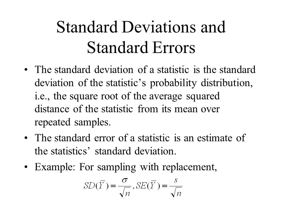 Factors determining width of confidence interval confidence interval for under random sampling with replacement from a normal population: Factors determining width of confidence interval: –Population standard deviation –Sample size n –Degree of confidence
