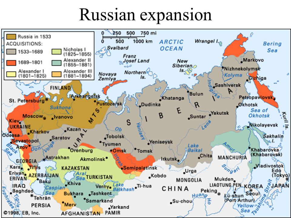 Russification Russian 45% of the population of the empire in 1897 (total pop.
