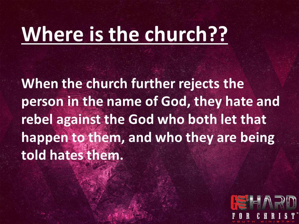 Where is the church .