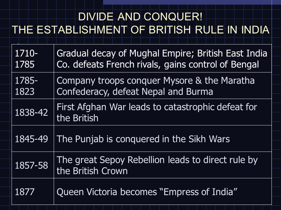The Mughal Empire, 1530-1857 It achieved its greatest power in the reigns of: Emperor Akbar (1556-1605) Emperor Aurangzeb (1658-1707) But old princely houses and new war lords gained control of many regions thereafter…