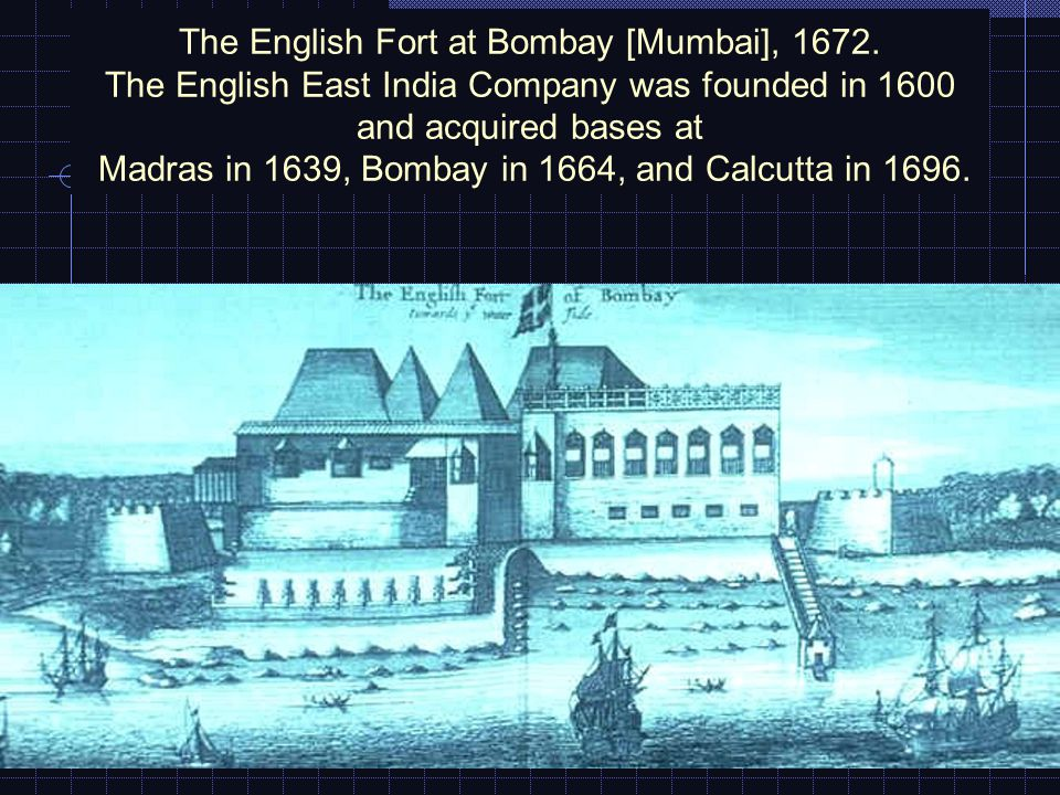 The first stage of British rule, 1785: The French at Pondicherry began to intervene in local civil wars in 1740, but the British proved far more successful.