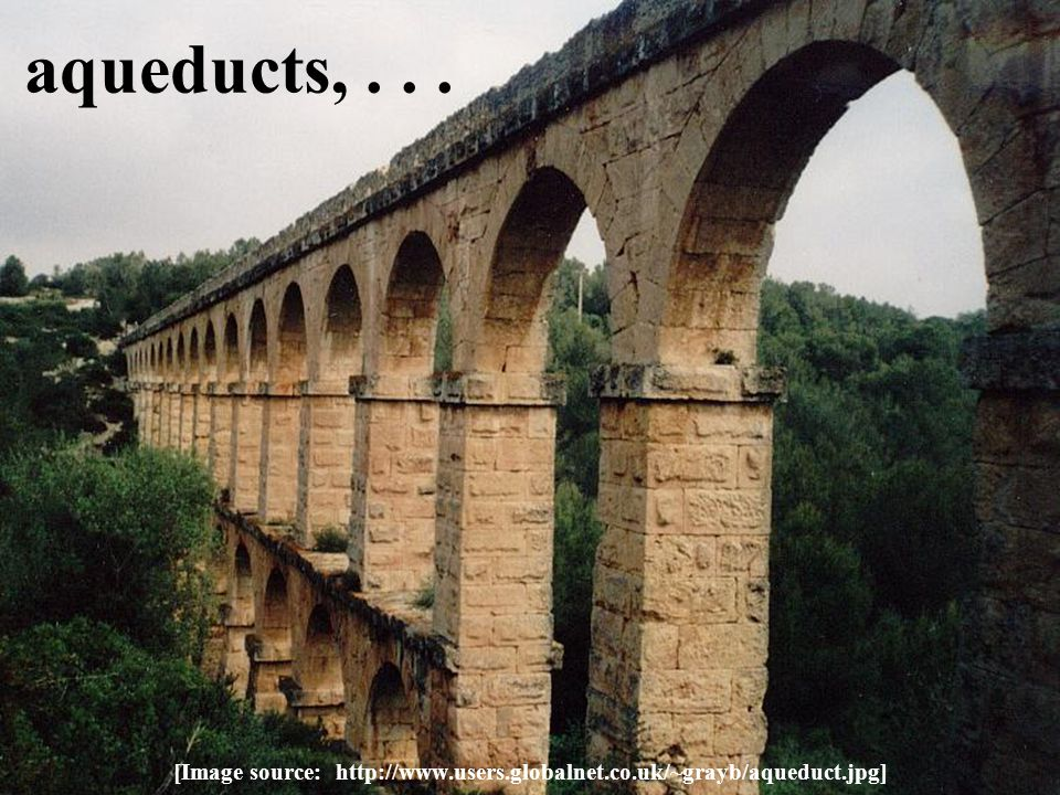 aqueducts,... [Image source: http://www.users.globalnet.co.uk/~grayb/aqueduct.jpg]