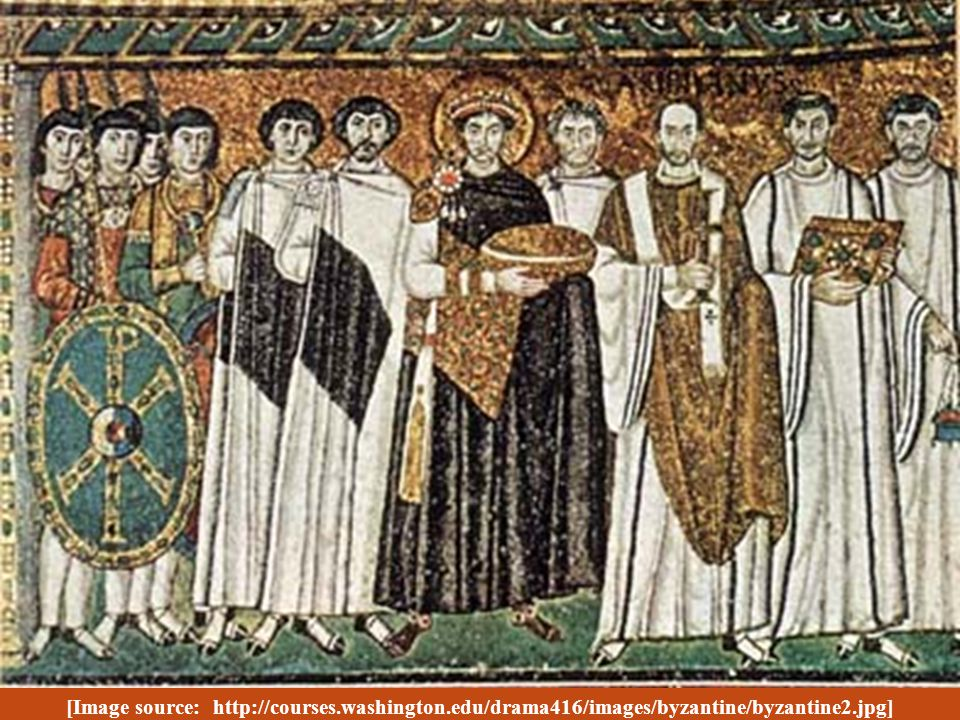 Over the objections of his court, Justinian married an ambitious circus prostitute by the name of Theodora.