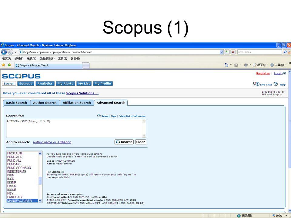 Scopus (1)