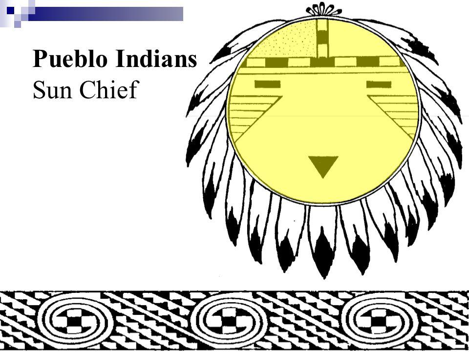 Pueblo Indians Sun Symbol