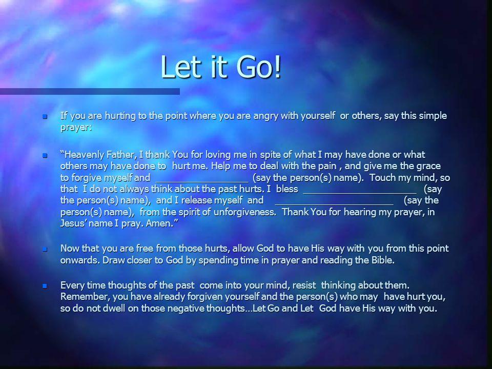 Let it Go.