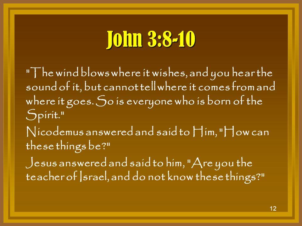 12 John 3:8-10