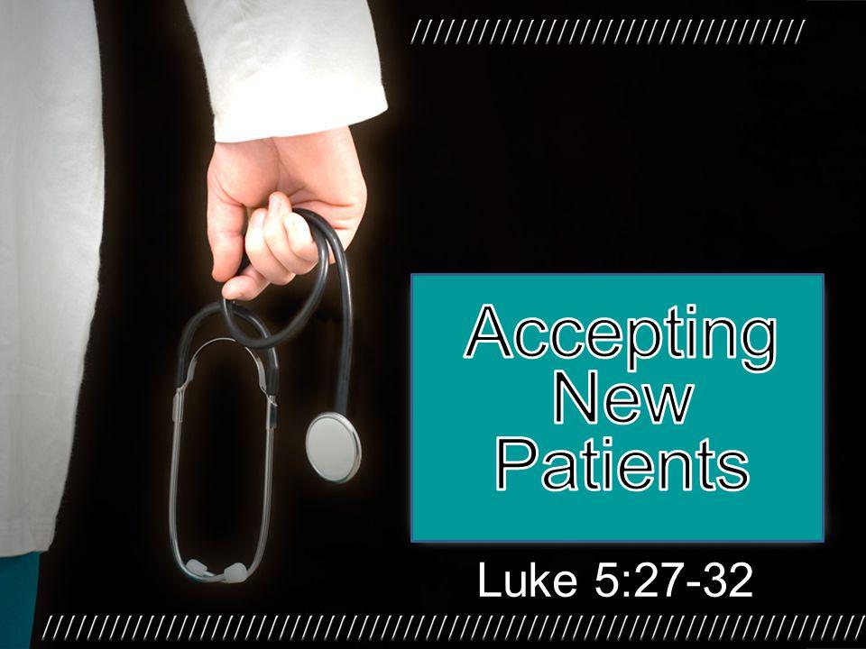 Luke 5:27-32