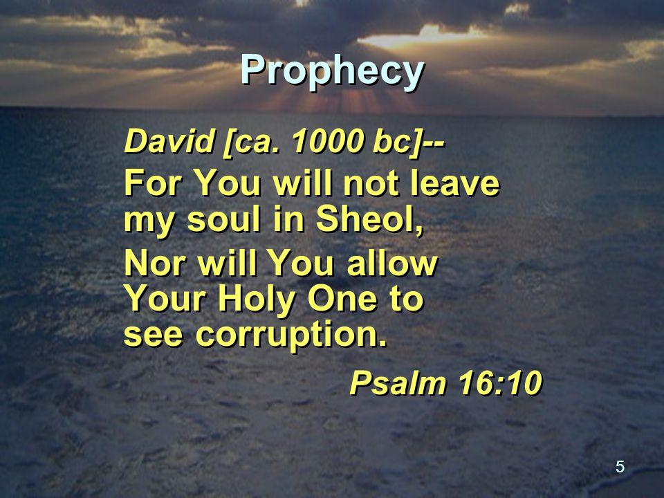 5 Prophecy David [ca.