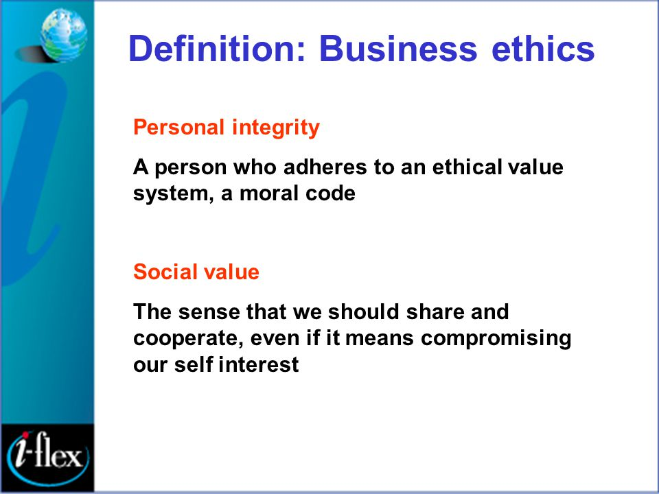 Are good ethics good business.