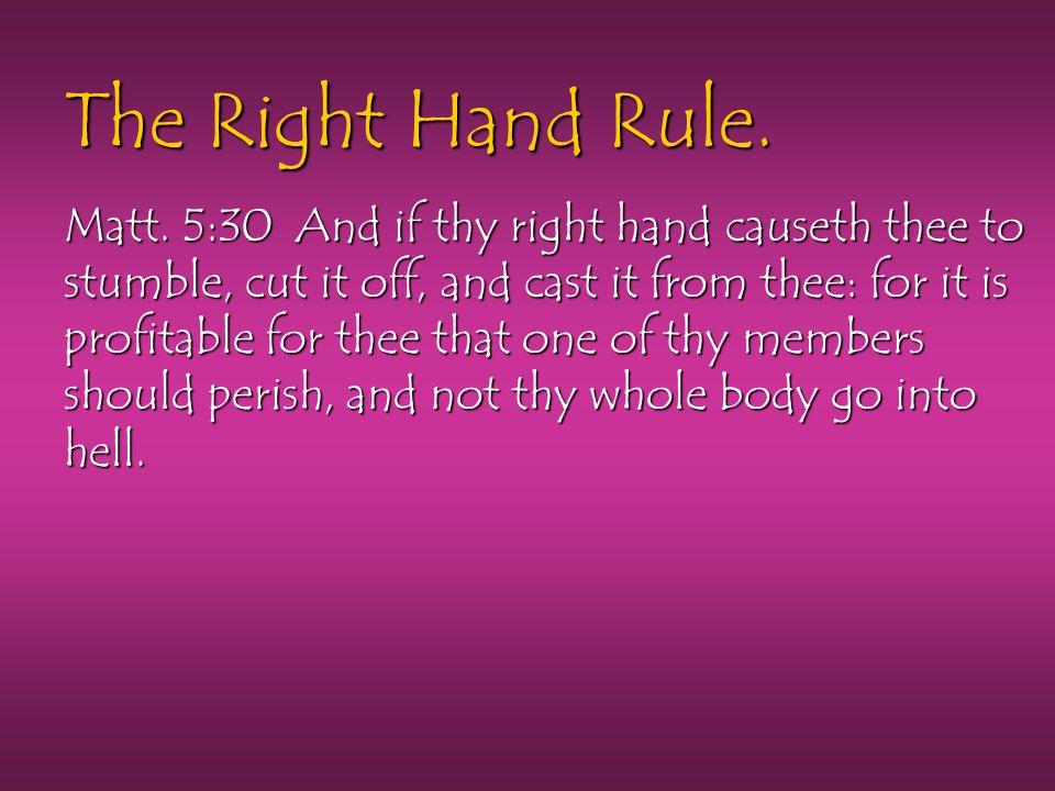 The Right Hand Rule.Matt.