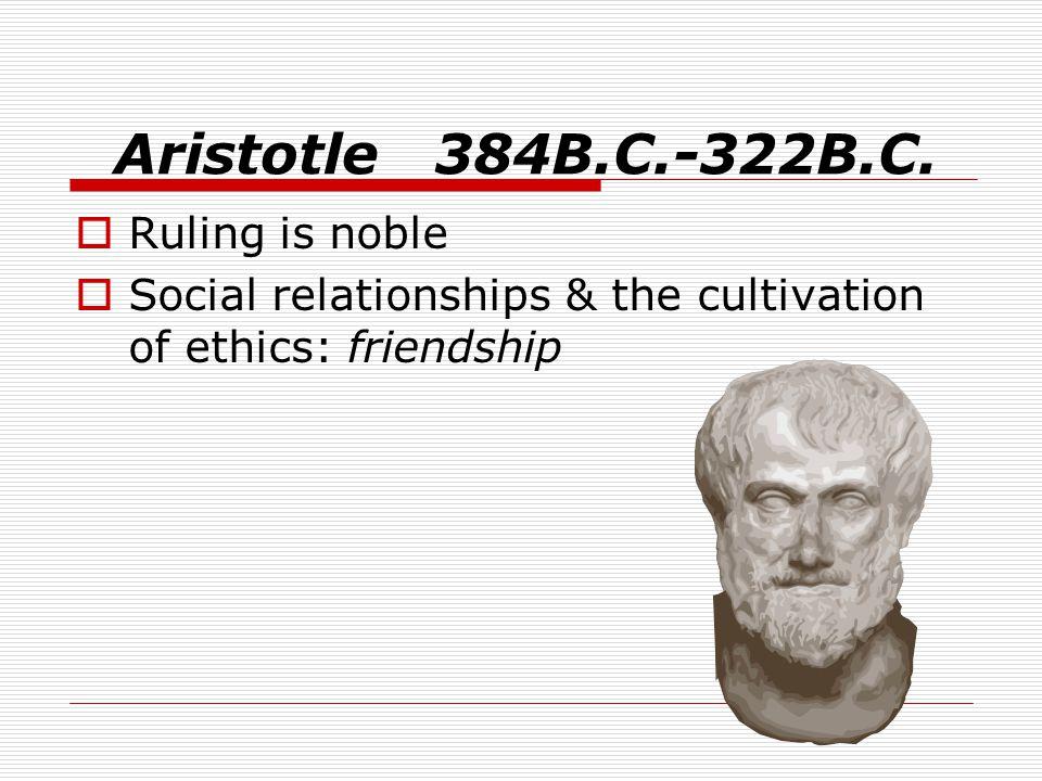 Aristotle 384B.C.-322B.C.
