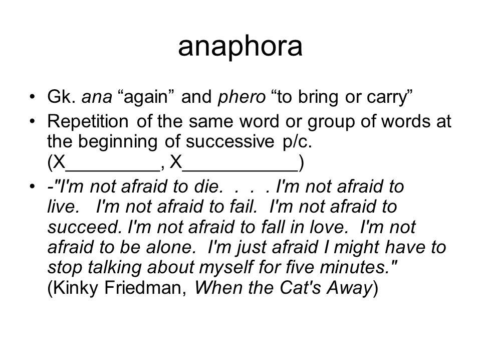 anaphora Gk.