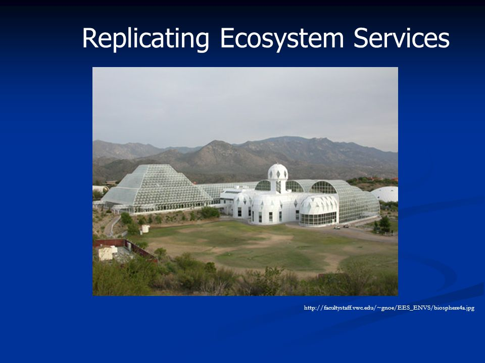 http://facultystaff.vwc.edu/~gnoe/EES_ENVS/biosphere4a.jpg Replicating Ecosystem Services