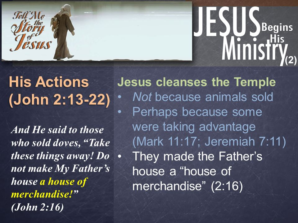 (2) His Focus (John 3-4:42) His Focus (John 3-4:42) The Religious The Rejected (Woman at the well) (4:1-29) A Samaritan A woman/servant A sinful woman