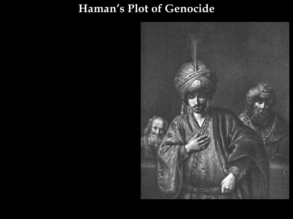 Haman's Plot of Genocide