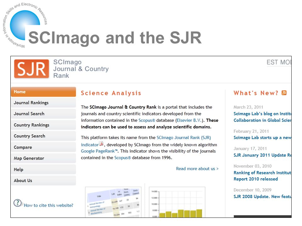 SCImago and the SJR