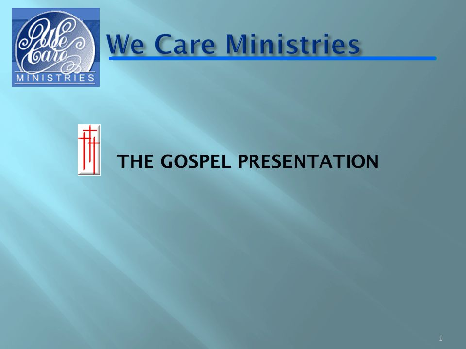THE GOSPEL PRESENTATION 1