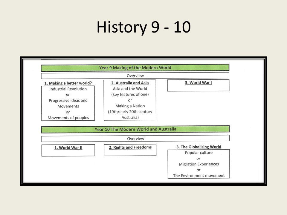 History 9 - 10
