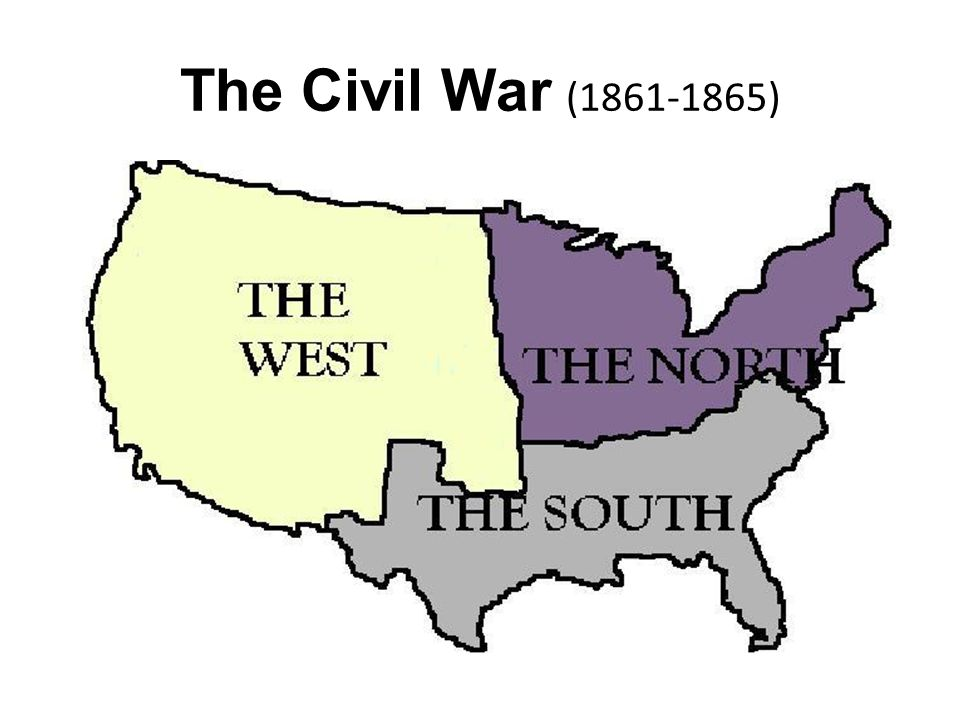 The rise of industry and the way the government treated the different areas would eventually led to a Civil War.