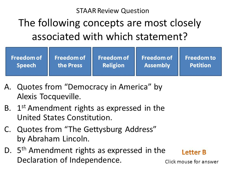 Which concept best summarizes the main idea behind all three amendments.