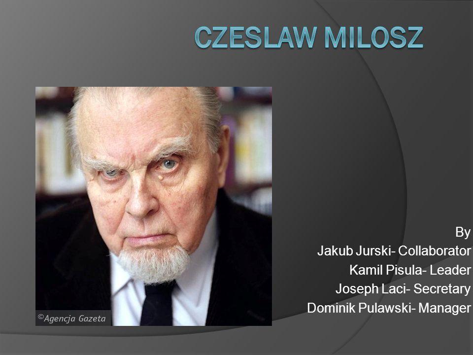 By Jakub Jurski- Collaborator Kamil Pisula- Leader Joseph Laci- Secretary Dominik Pulawski- Manager