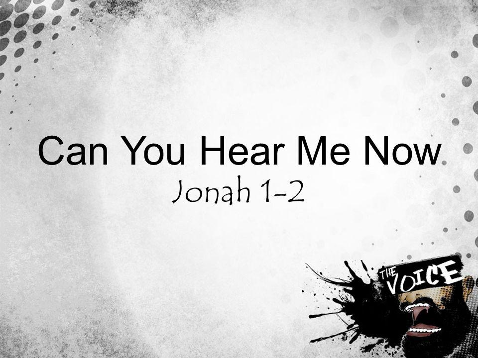 Jonah 1-2