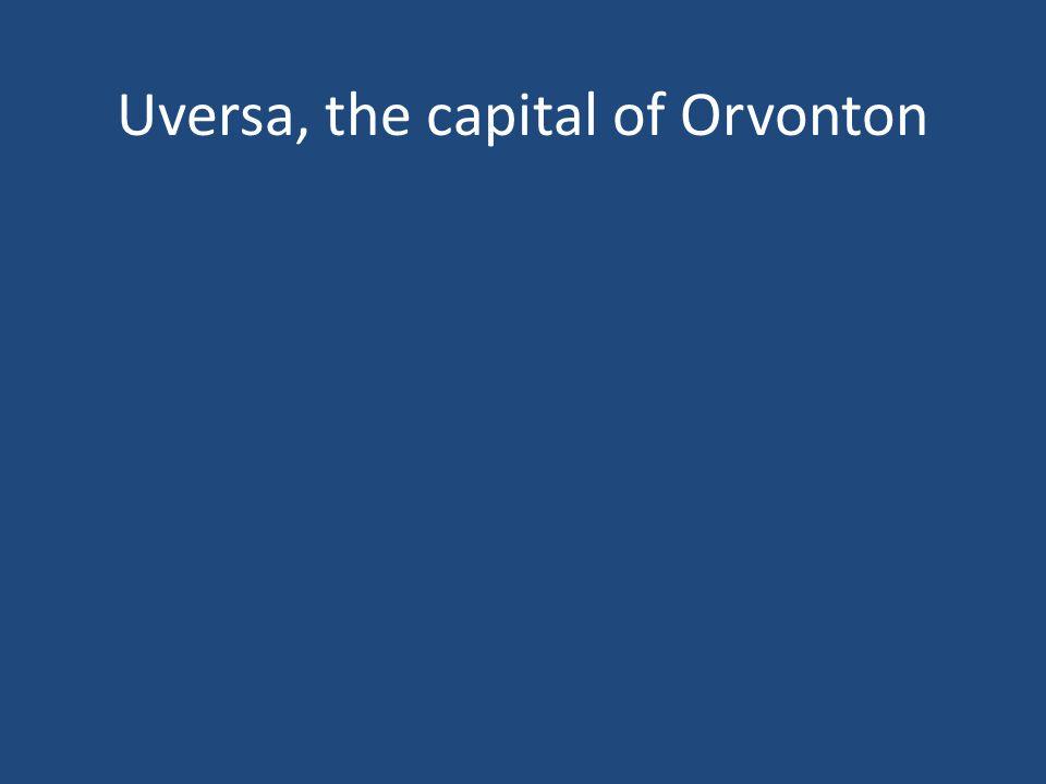 Uversa, the capital of Orvonton