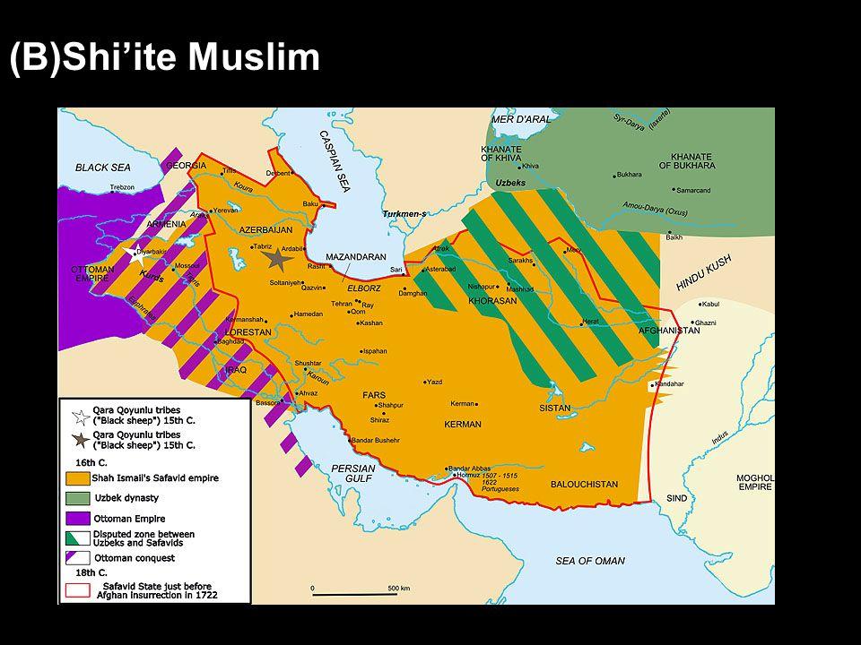 (B)Shi'ite Muslim