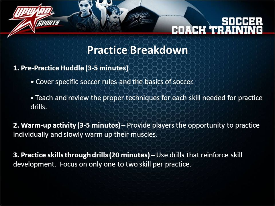 Practice Cards Each player will receive a practice card at the end of Practices 2, 5, 8 and the last practice.