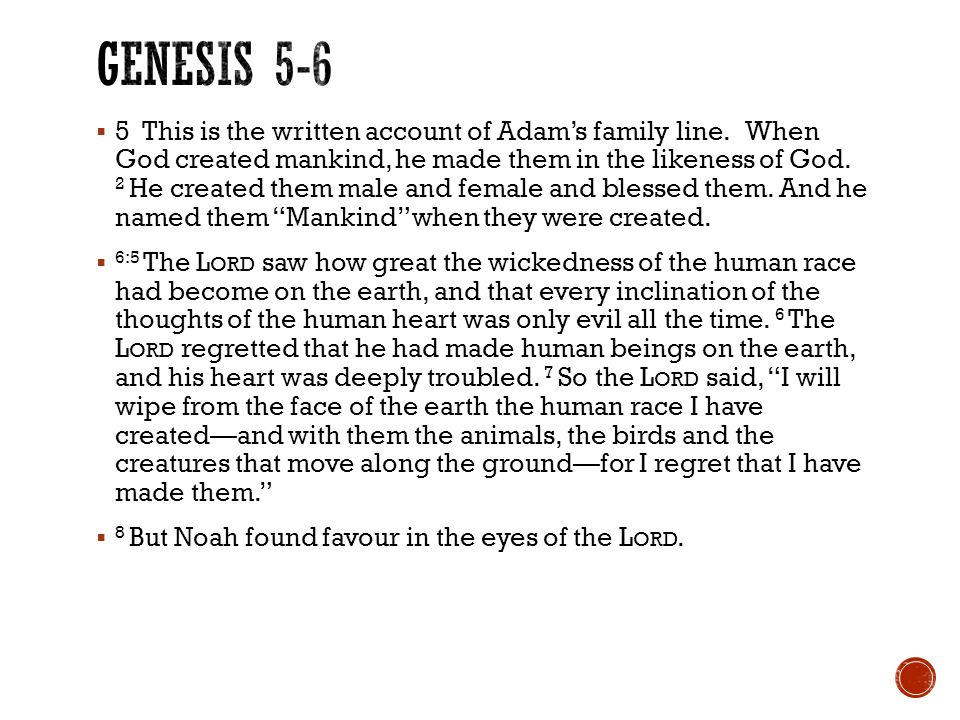  9 This is the account of Noah and his family.