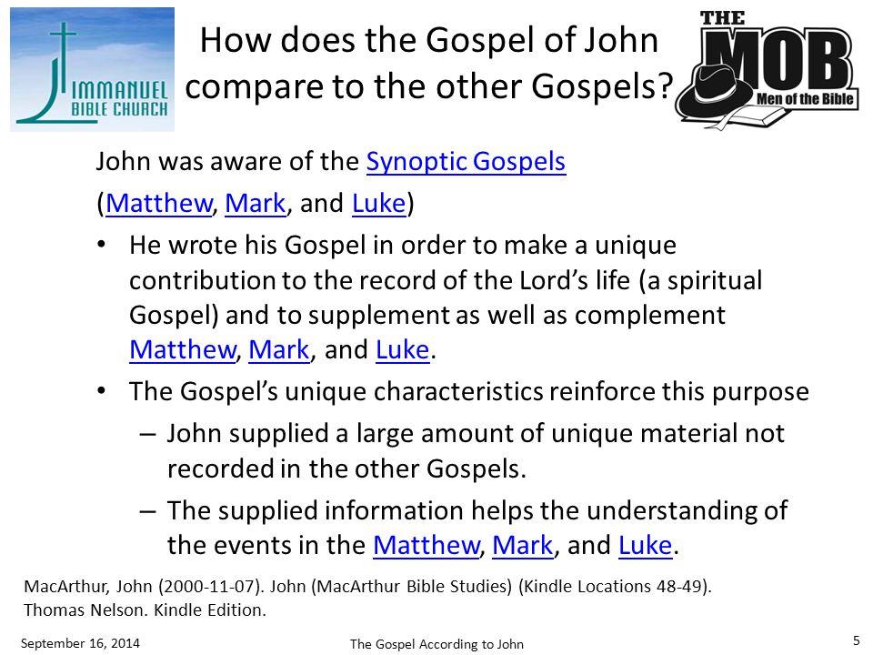 Why did John write this Gospel.