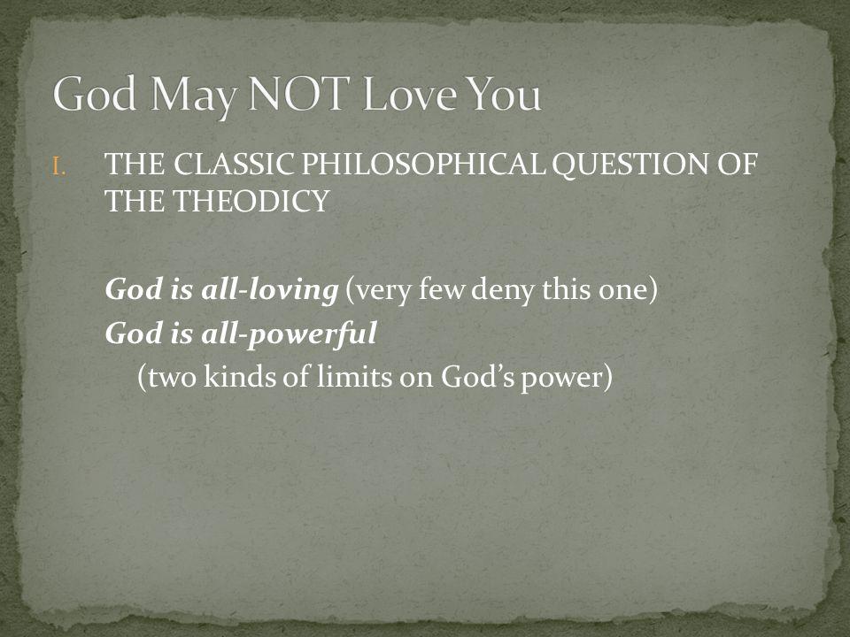 LIMITS ON GOD'S POWER 1.