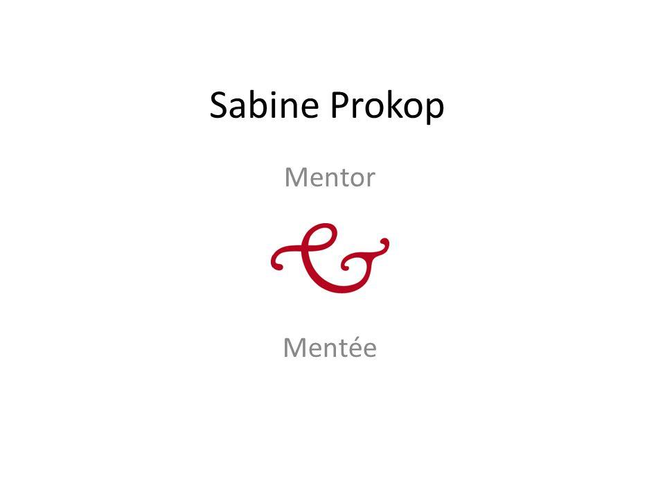 Sabine Prokop Mentor Mentée
