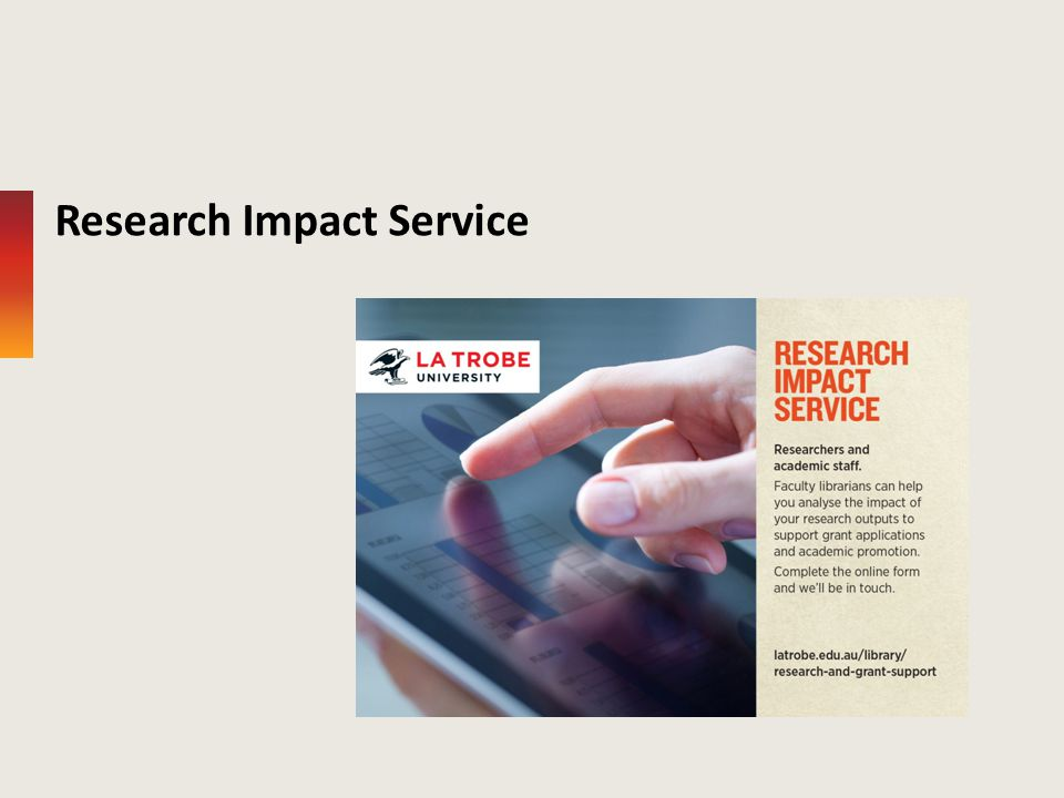 Research Impact Service