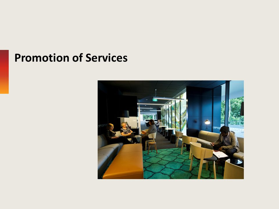 Promotion of Services