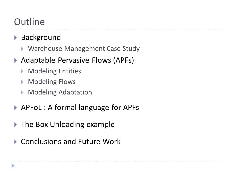 Conclusions  We have described a preliminary version of APFoL.
