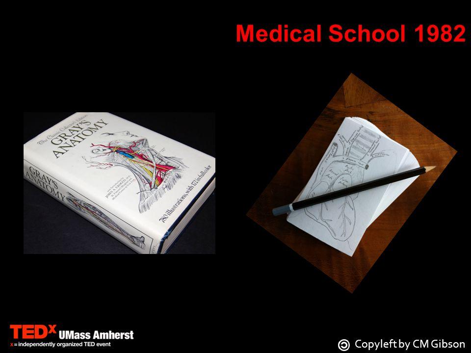 Medical School 1982 Copyleft by CM Gibson