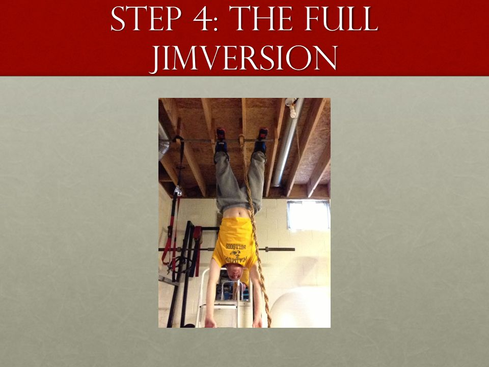 Step 4: The full jimversion