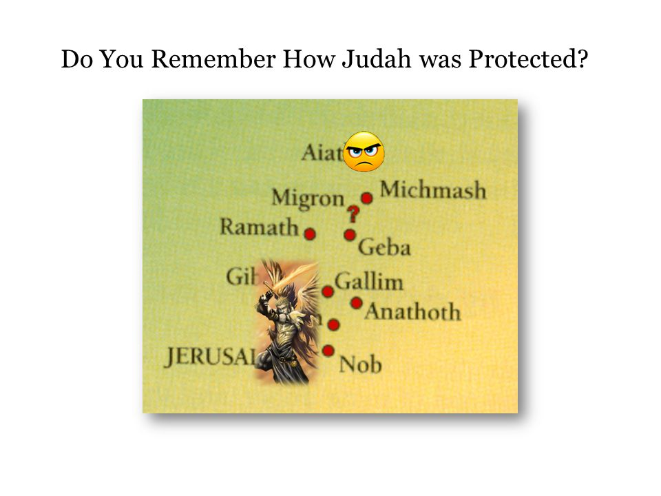 Do You Remember How Judah was Protected