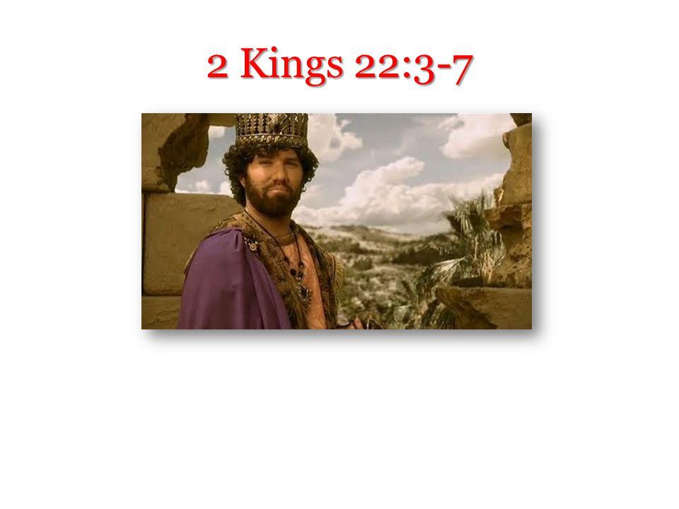 2 Kings 22:3-7