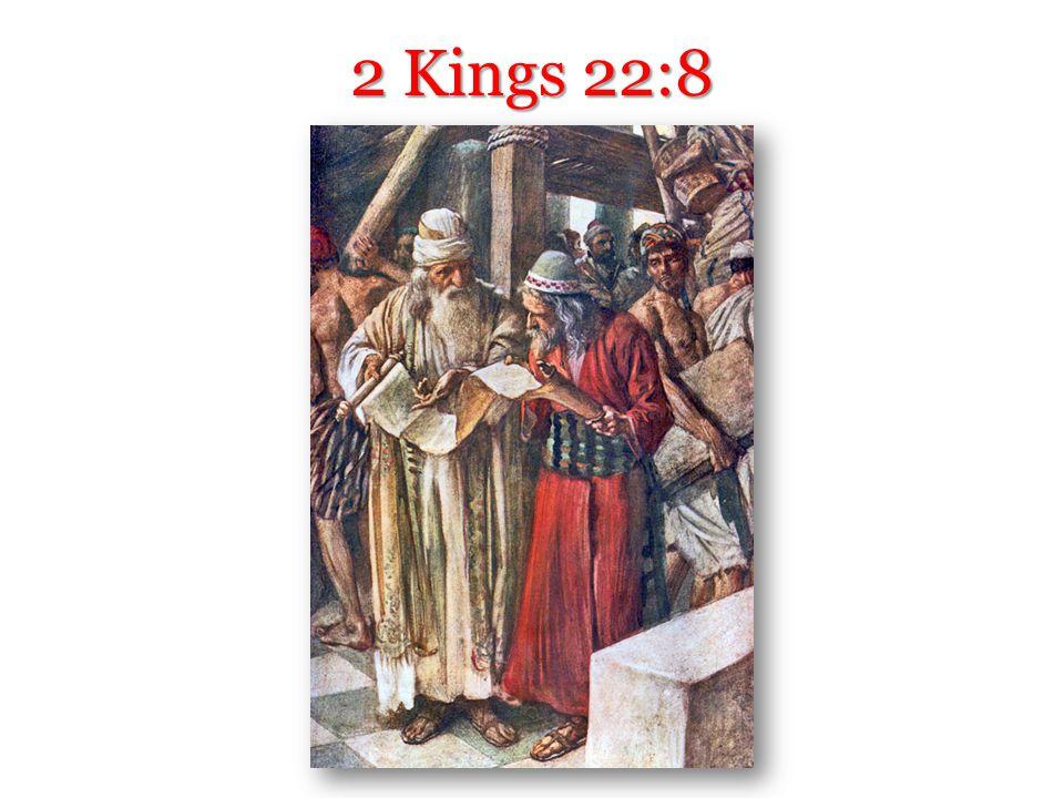 2 Kings 22:8